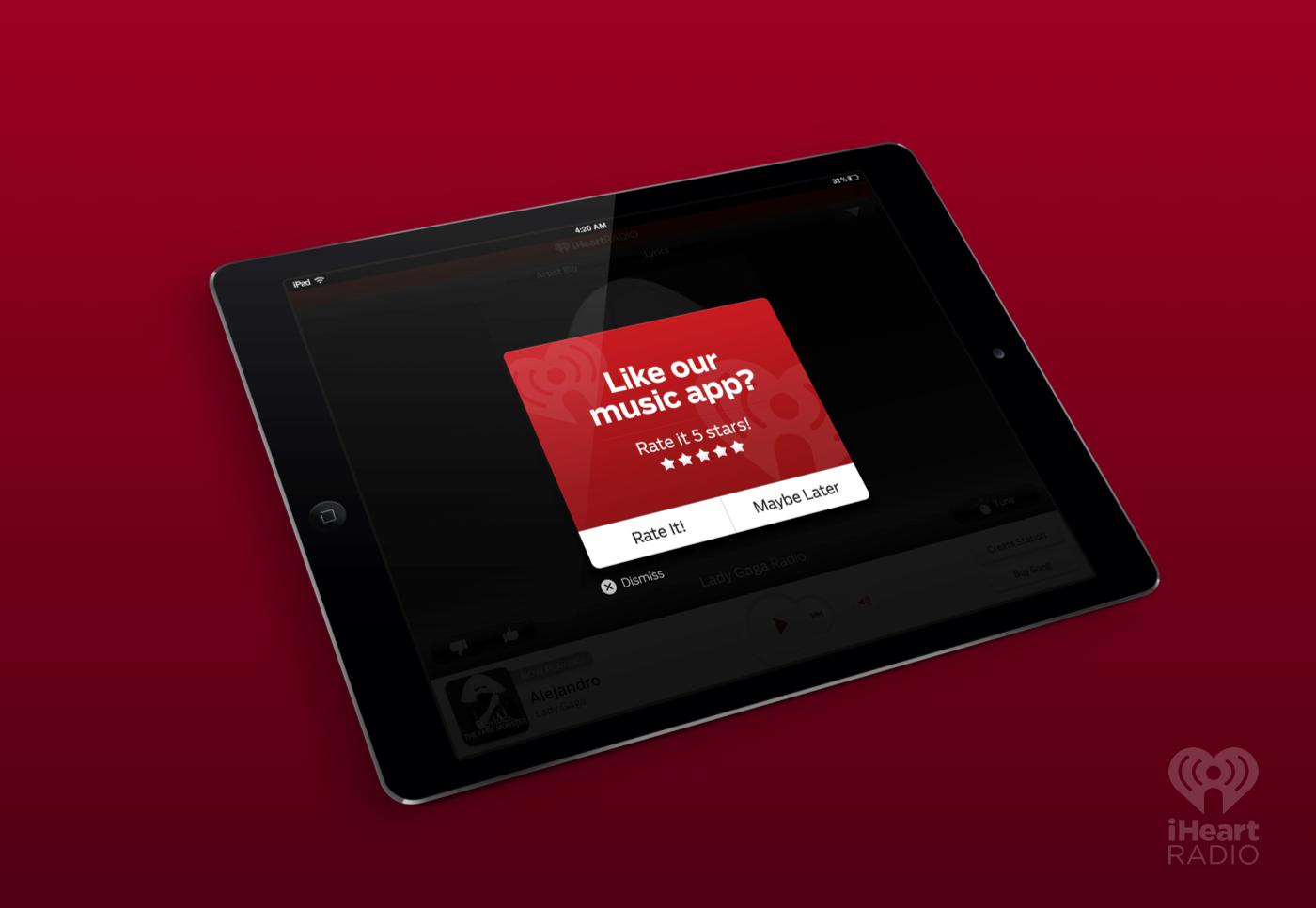 iHeartRadio iPad – Marie Prezner